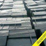 Baldosa de pizarra placa de pizarra 60x30x3. Rustic black slate tile. Fliesen schiefer.