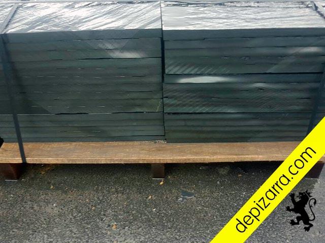 Suelo de Pizarra. Plaqueta de pizarra suelo baldosa de pizarra placa de pizarra 60x30x3. Rustic black slate tile. Fliesen schiefer. Ardoise naturelle.