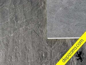 Placa de pizarra superficie natural y placa de pizarra natural acabado cepillado fino.