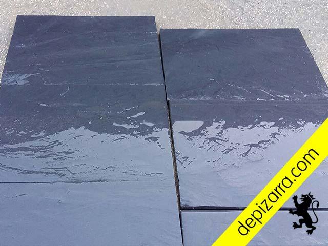 Laca de pizarra natural 35x25x1 5cm placa pizarra suelo - Suelos de plaqueta ...
