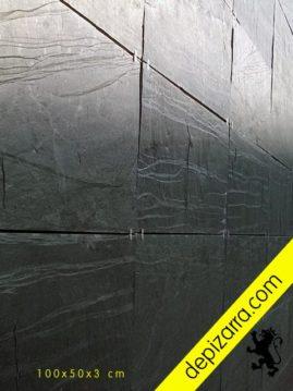 Placa de pizarra 100x50x3cm para fachada ventilada. Elegante y eterna fachada ventilada pizarra.