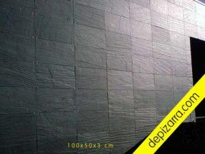 Placas de pizarra 100x50x3cm para fachada ventilada. Placas revestimiento fachadas.