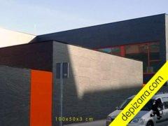Placas de pizarra natural 100x50x3cm para fachadas edificios.
