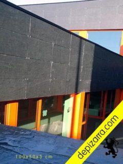 Qué es una fachada ventilada de placas de pizarra natural.