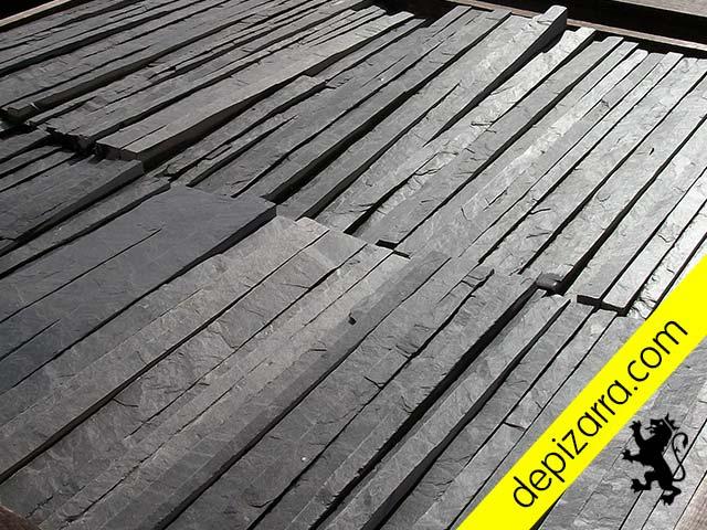 Fachadas de pizarra elegant resistente pizarra para for Revestimiento exterior zinc