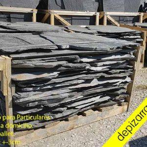Pallet de pizarra 3cm 15m2. Изделия из натурального сланца.