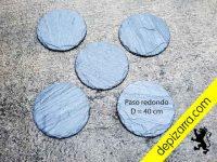 Oferta pasos japonés redondo diámetro 40 cm.